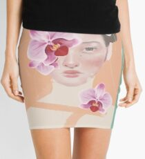 The Orchid Blooms Mini Skirt