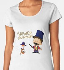 The Greatest Showman Calvin and Hobbes Women's Premium T-Shirt