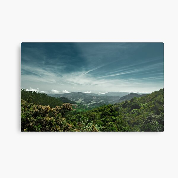 Nature is an infinite sphere of which the center is everywhere and the circumference nowhere.  Metal Print