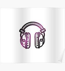 Avicii DJ Headset Poster
