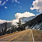 Road To The Mountains by Linda Miller Gesualdo