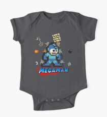Megamans - Power ups One Piece - Short Sleeve