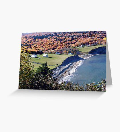 Capstick, Cape Breton Island Greeting Card