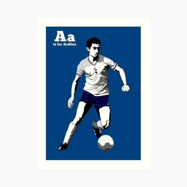 A is for Ardiles  Art Print
