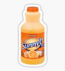 Sunny Delight, Sticker
