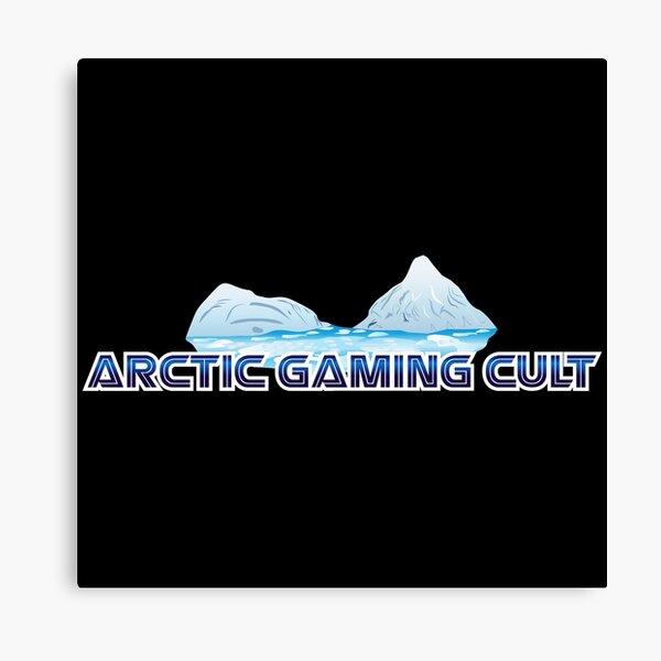 Arctic Gaming Cult Logo Canvas Print