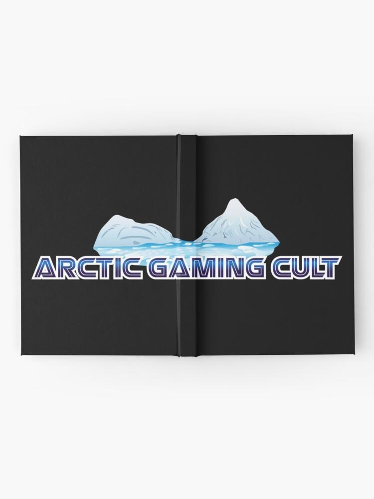 Alternate view of Arctic Gaming Cult Logo Hardcover Journal