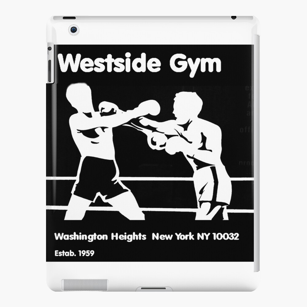 in honour of Vintage Old Skool Washington Heights New York Boxing Gym -The  Westside Gym - closed down in 2014 | iPad Case & Skin