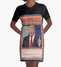trump card Graphic T-Shirt Dress