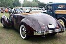 1936 Cord 810 Rear View by AuntDot
