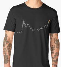 Bitcoin Cup & Handle Chart Men's Premium T-Shirt