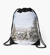 Mount Helena Scenery Drawstring Bag