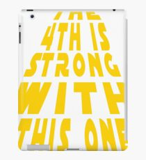 4th of May Be With You Funny T-Shirt  iPad Case/Skin