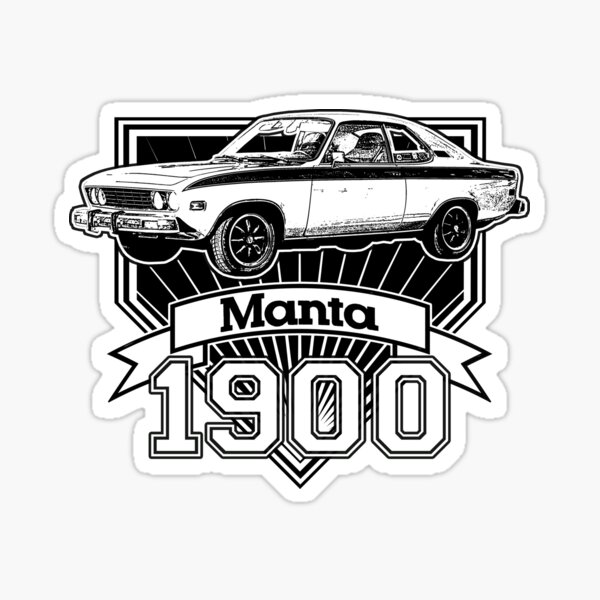 Opel Manta 1900 Sticker