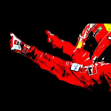 Schumi cheers by F1Marv