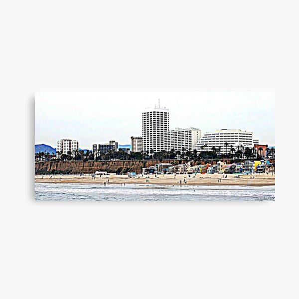 Other Side of the Beach Canvas Print