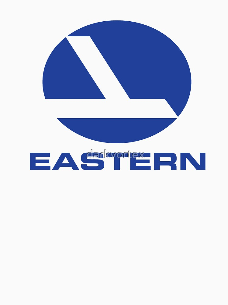 Eastern Airlines Shirt Defunct Airline Tshirt by darkvortex