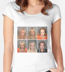 Lindsay Lohan Women's Fitted Scoop T-Shirt