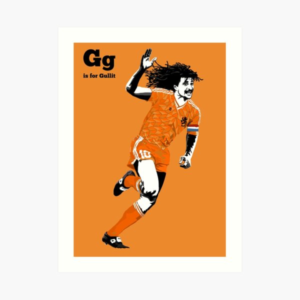 G is for Gullit Art Print