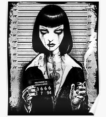 Mia Wallace - Pulp Fiction Poster