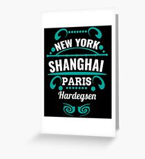 Hardegsen - Our city is not a Weltmertopole but you should. Greeting Card