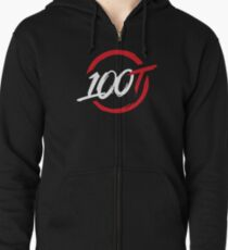 100 Thieves || Original  Zipped Hoodie