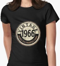 Vintage Perfection Men Women Gift 1966 52th Funny Costume Women's Fitted T-Shirt