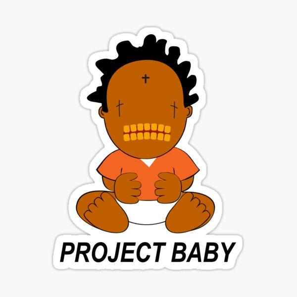 Kodak Black Project Baby Sticker