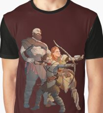 God of War Horizon Zero Dawn  Graphic T-Shirt