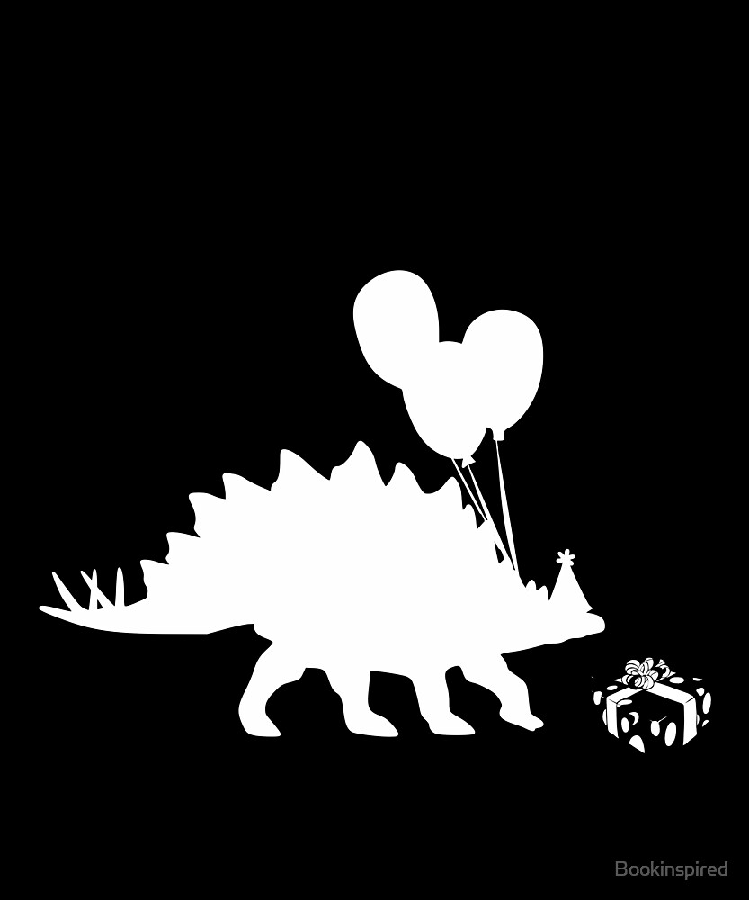 Birthday Party Dinosaur  by Bookinspired