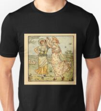 Walter Crane's Painting Book 1889 8 - Dance Color T-Shirt