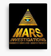 Mars Investigations Canvas Print