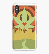 Weed, Love, and Mountains iPhone Case/Skin