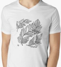 Art feathers Men's V-Neck T-Shirt