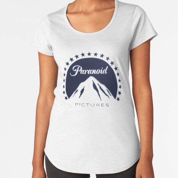 Banksy Paranoid Pictures Premium Scoop T-Shirt