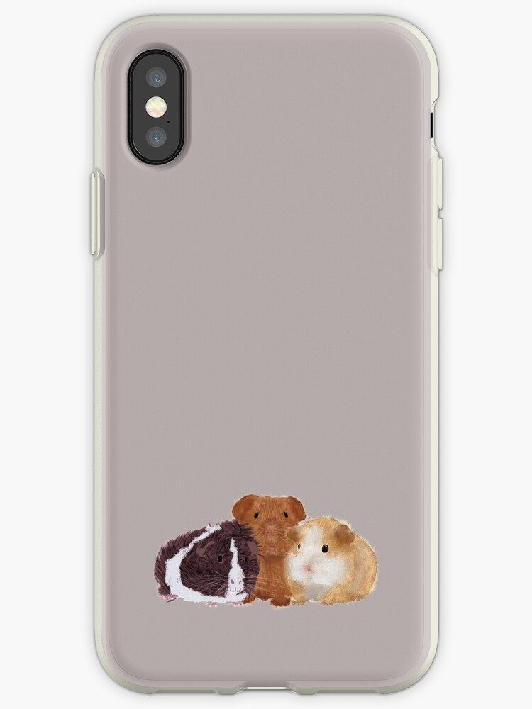 online retailer 1eee5 6de2e 'Guinea Pigs' iPhone Case by Amy Hadden