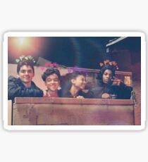 Cesar, Monse, Ruby and Jamal Sticker