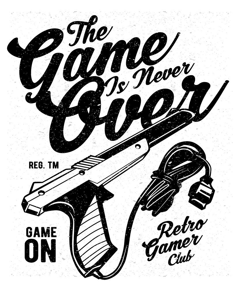 The Game Is Never Over t-shirt