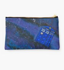 Police Box in Space Studio Pouch