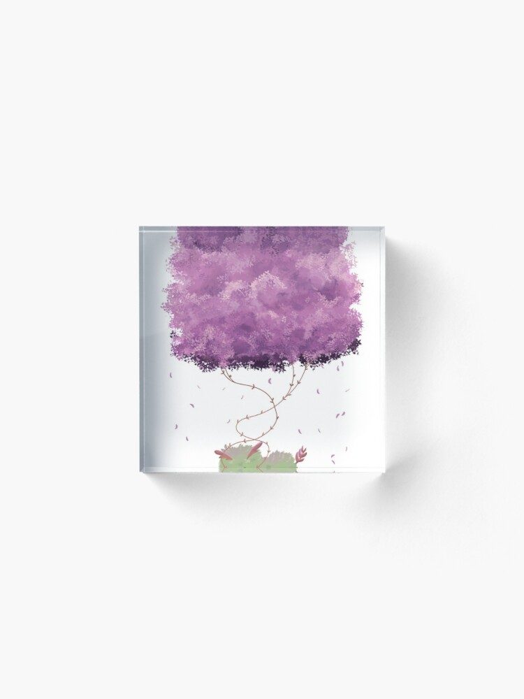 Alternate view of Dehra Napping Acrylic Block