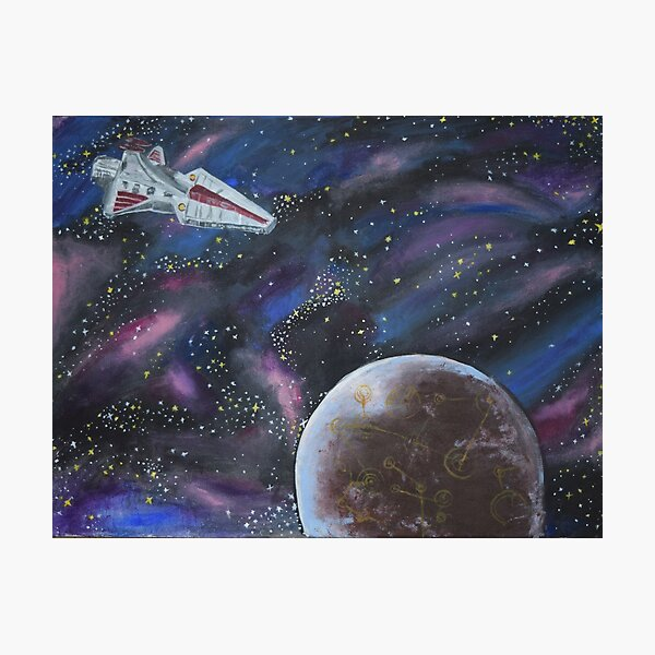 MILKY WAY SOLAR SPACE STARS CANVAS PICTURE PRINT WALL ART 6743