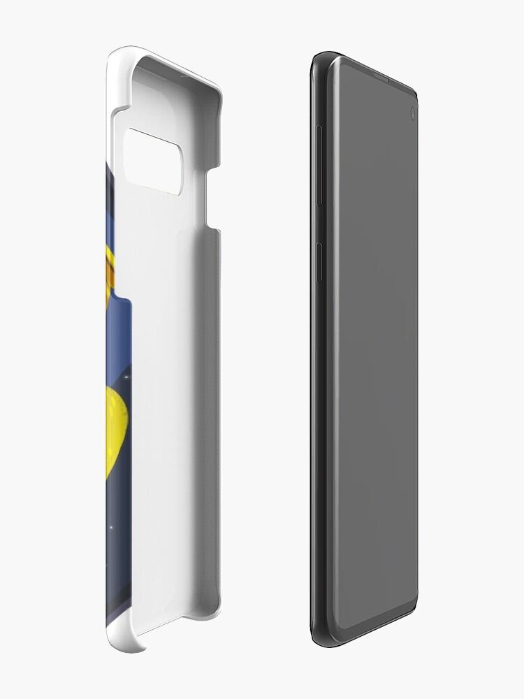 Alternate view of Cosmic Fish logo Case & Skin for Samsung Galaxy