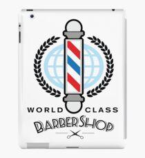World Class Barber Shop iPad Case/Skin