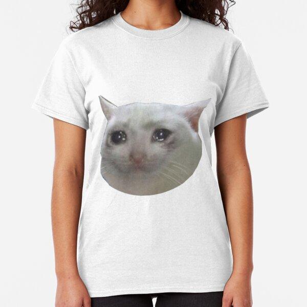 crying cat . jpg Classic T-Shirt