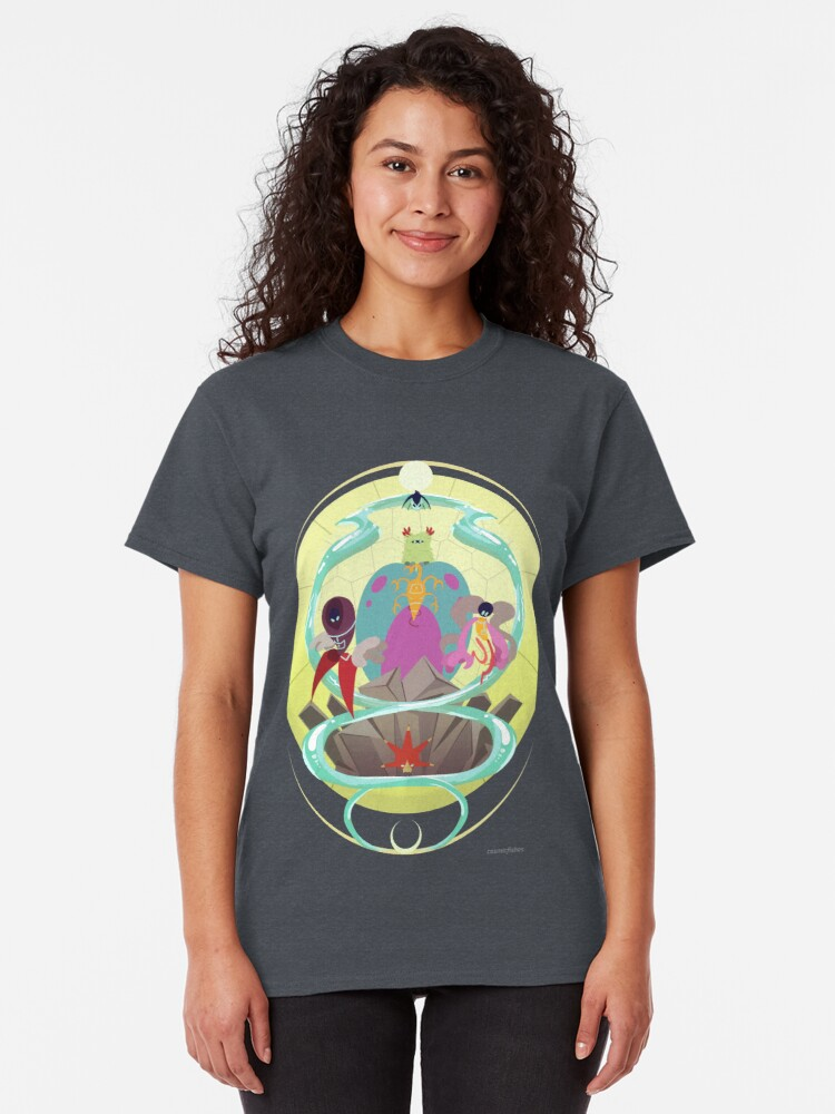 Alternate view of Planetary Guardians Classic T-Shirt