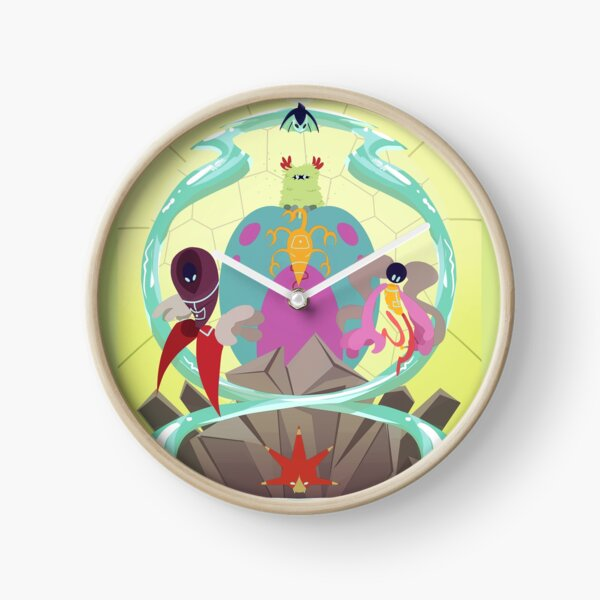 Planetary Guardians Clock