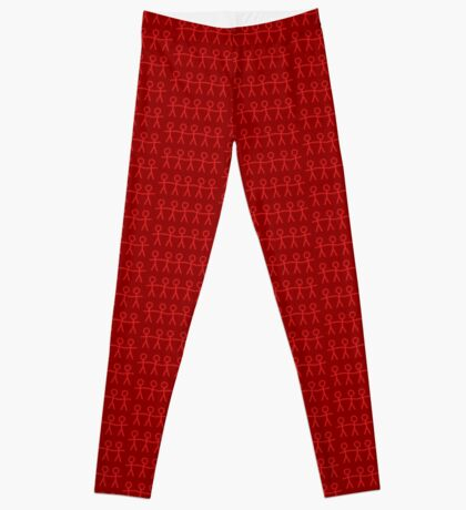 #WalkInRed People Chain Leggings