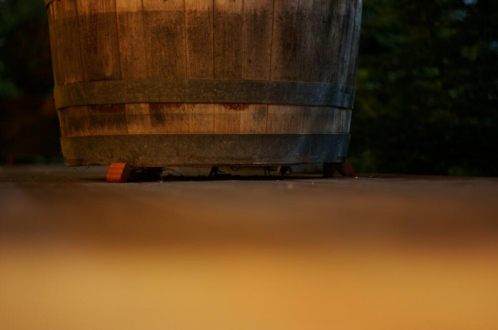 Wine Barrel Planter by Casey Moon-Watton