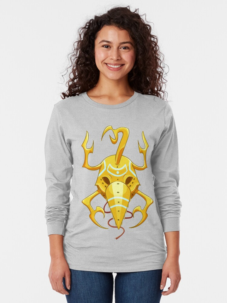 Alternate view of Ciante mask Long Sleeve T-Shirt