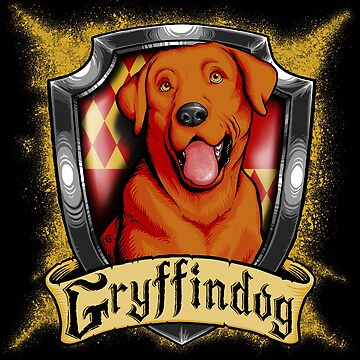Hairy Pupper Doghouses - Gryffindog by dauntlessds